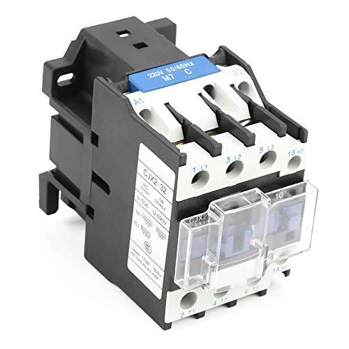 Wisselstroombeveiliging, CJX2-3210 220V 32A industriële elektrische wisselstroombeveiliging zeer gevoelige huishoudelijke bescherming voor stroom-, verdeel- en energietoepassingen