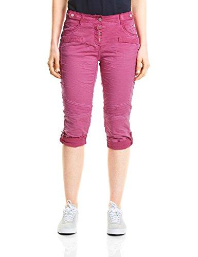 Cecil Damen New York Loose Fit Hose, Pink (Magic Pink 11277), 30