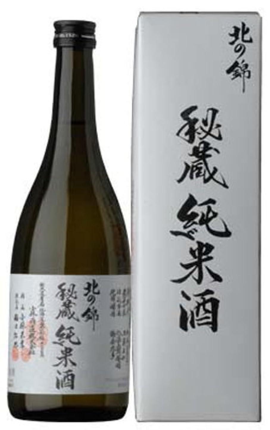 きらきらキャンプ組み込む北の錦 秘蔵純米酒 720ml