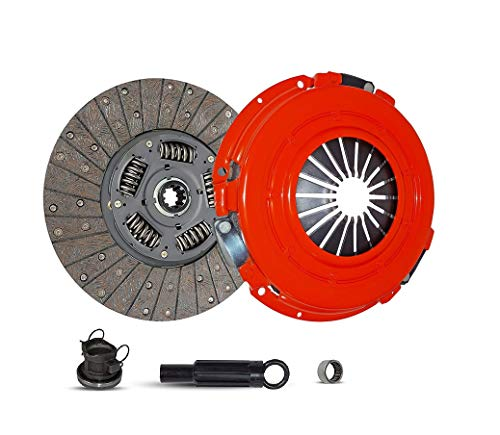 Clutch Kit Compatible With Ram 1500-3500 B150 B1500-B3500 Laramie Sport St Base Standard Extended Cab Pickup 1994-2002 3.9L V6 5.2L V8 5.9L V8 GAS OHV Naturally Aspirated (Stage 1)