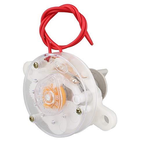 Futheda Temporizador de ventilador de 60 minutos para pared, temporizador mecánico, accesorios electrónicos, temporizador de 60 minutos con una perilla para ventilador eléctrico, dispensador de agua