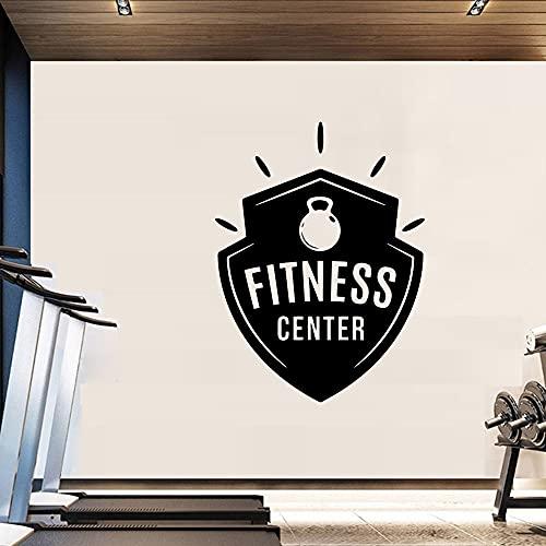 Divertido gimnasio pegatinas de pared para el hogar decoración creativa de fondo vinilo arte de pared calcomanías pegatinas de pared murales A7 42x56cm