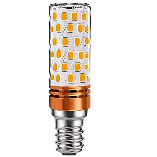 Lampadina a LED E14, 12 W, sostituisce lampadine alogene da 100 W, 120 W, 150 W, 3000 K, luce bianca calda, E27, non sfarfallio, non dimmerabile, lampadine LED E14, confezione da 1