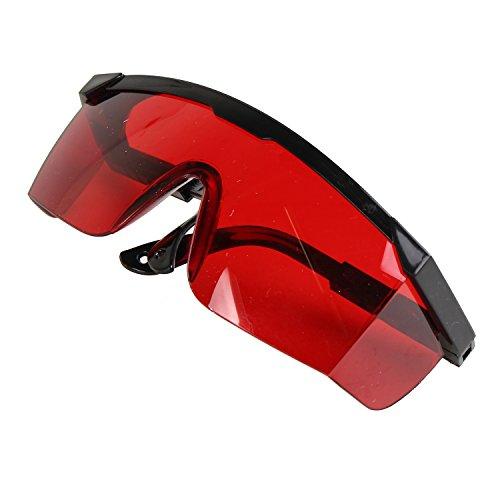 Pinzhi Augenschutzbrillen Rot Laser Schutzbrille --Rot