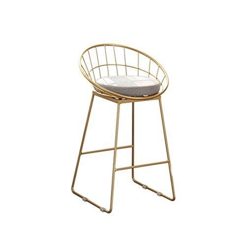 Lying Tabouret de bar, tabouret de bar élégant de style minimaliste moderne en fer forgé trouver (taille : 65cm)