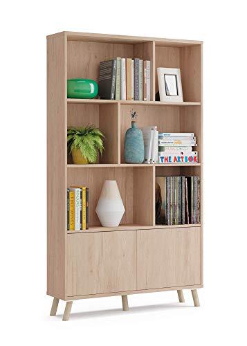 Muebles Pitarch 10032 Librería, Aurora, 180 x 100 x 30 cm