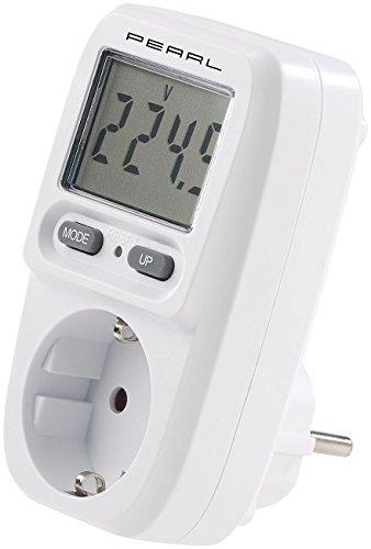 revolt Energiekostenmesser: Digitaler Energiekosten-Messer & Stromverbrauchs-Zähler, bis 3.680 W (Energiemessgerät)