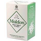 Maldon Salt, Sea Salt Flakes, 4.4 oz (125g), 12 Count, Kosher, Natural, Handcrafted, Gourmet, Pyramid Crystals