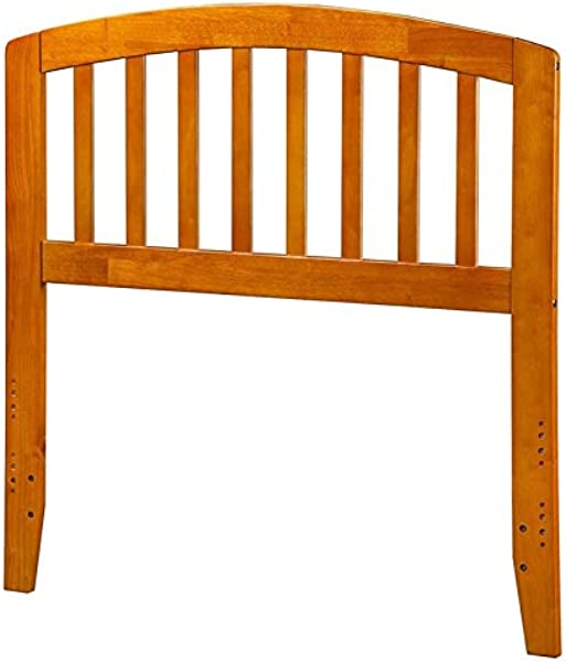 Atlantic Furniture 41 63 In Twin Headboard In Caramel Latte Finish