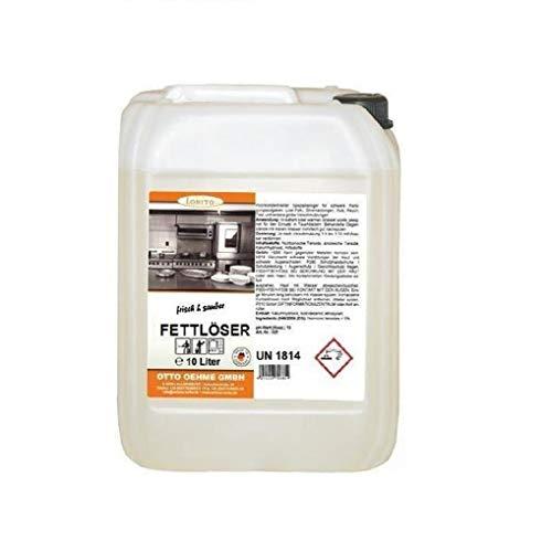 LORITO frisch & sauber Fettlöser Reiniger Küche, Küchen Entfetter Küchenreiniger 10 Liter