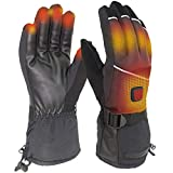 CREATRILL Electric Heated Gloves with 6 Heating...