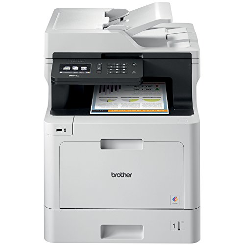 Brother Color Laser Printer, Multifunction Printer, All-in-One Printer, MFC-L8610CDW, Wireless Networking, Automatic Duplex Printing, Mobile Printing and Scanning, Amazon Dash Replenishment Ready