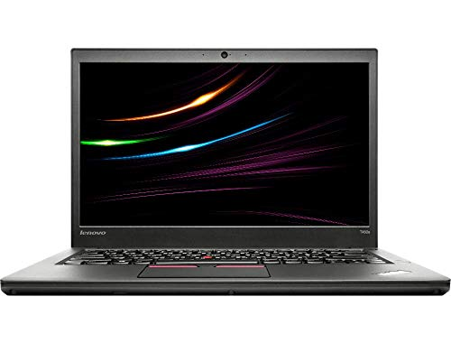 Lenovo ThinkPad T450s Business Notebook Intel i7 2 x 2.6 GHz Prozessor 12 GB Arbetsspeicher 240 GB SSD 14 Zoll Display, Full HD, 1920x1080, IPS Cam Windows 10 Pro S2Y (Generalüberholt)