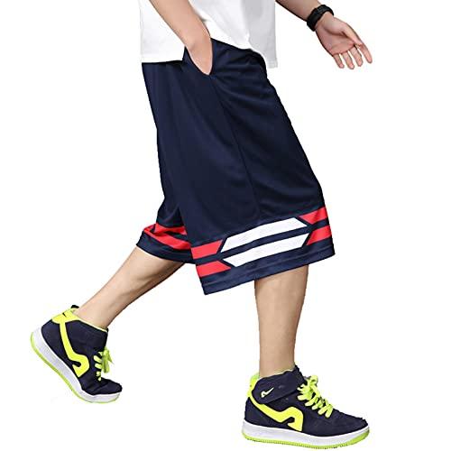 YUEMO Pantalones cortos de baloncesto de la NBA para hombre, de verano, 3/4, 11, XXXXL