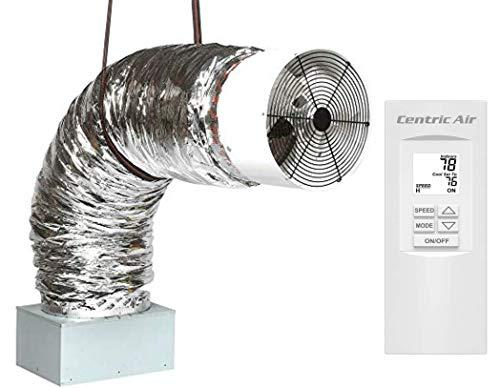QA-Deluxe 3300(R2T) Energy Efficient Whole House Fan | R-5...