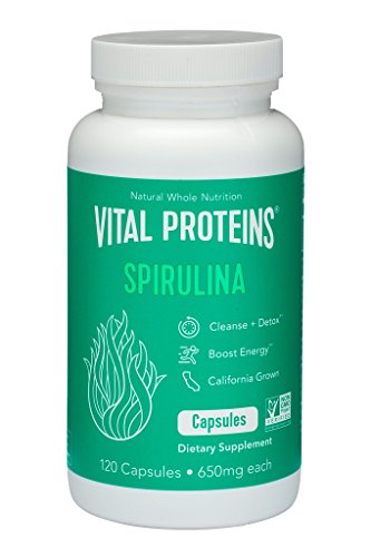 Spirulina Natural Capsules - 300C by Earthrise review