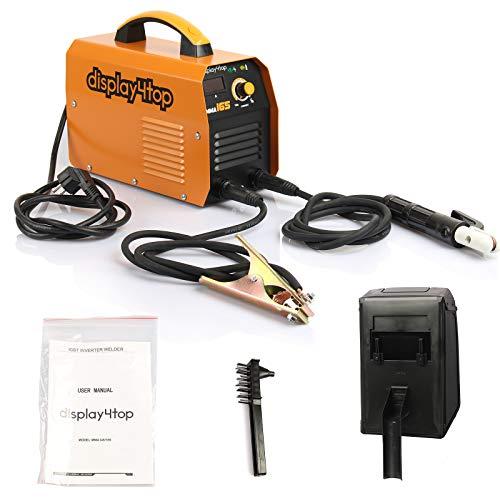 Display4top 200 Amp Inverter Saldatore ARC MMA Digital Display LCD Hot Start Saldatrice Saldatrice portatile (MMA 165)