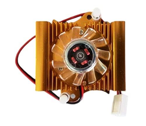 Link disipador para tarjetas gráficas con ventilador