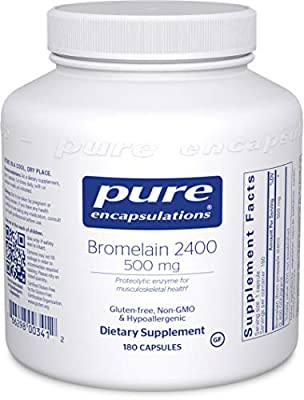 Pure Encapsulations - Bromelain 2400 250 mg. 60's