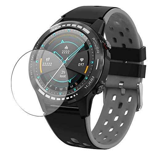 Vaxson 3 Stück Schutzfolie, kompatibel mit Gandley M7 M7C Smartwatch smart watch, Displayschutzfolie TPU Folie [ nicht Panzerglas ]