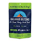 Lime Chili Kalahari Biltong, Air-Dried Thinly Sliced Beef, 2oz (Pack of 1), Sugar Free, Gluten Free,...