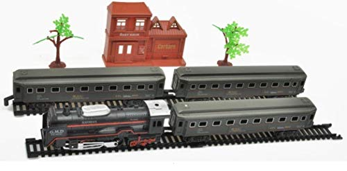 Rail King South Carolina Express - Camión de Vapor con 3 vagones y trayectos Largos y Accesorios