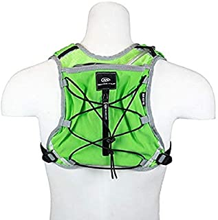 M Orange Mud Gear Vest Pro, 35oz/1L of on Board Hydration, Plus Sized Phone Storage, Super Stable Footprint for Run and Ride.
