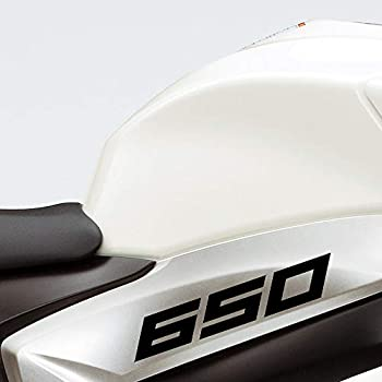 Stickman Vinyls Gloss Black Motorcycle Superbike Sticker Decal Pack Waterproof Compatible with Kawasaki Ninja 650