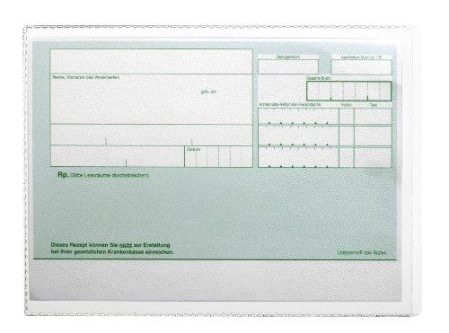 DURABLE Hunke & Jochheim Schutzhülle, mit Einreißschutz, dokumentenecht, DIN A6, 105x148mm, transparent