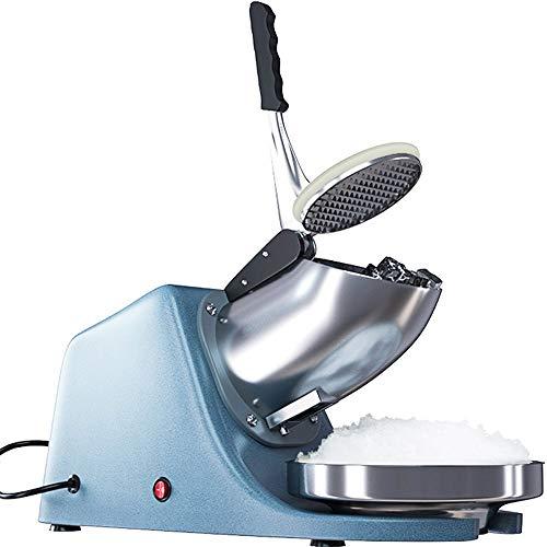 MUBAY Ice Shaver, Ice Crusher, elektrischer Handel Ice Shaver Schnee-Kegel rasierter EIS-Hersteller-Maschine Edelstahl-Blatt-EIS-Crusher Aufsatz- Smoothie