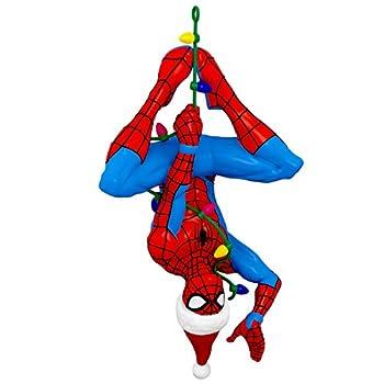 Hallmark Keepsake Christmas 2019 Year Dated Marvel Spider-Man Here Comes Spidey Claus Ornament
