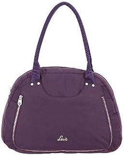 Lavie Womens Zipper Closure Shoulder Handbag (204095293_Purple)