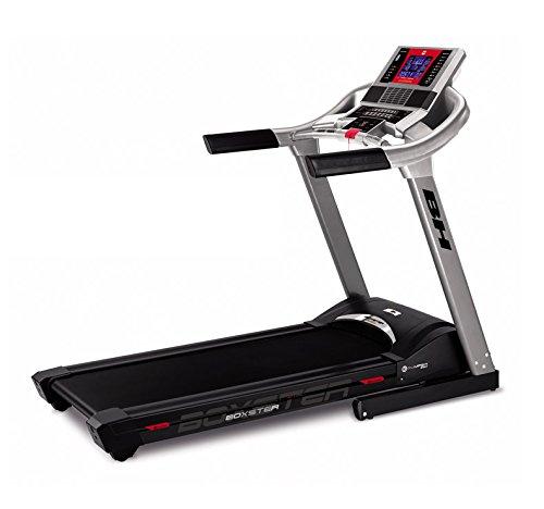 BH Fitness i.Boxster Cinta de Correr eléctrica Plegable - 20 Km/h - Inclinación eléctrica 12{1328970542349f689c405af2d01eacbf65f5f974cf75037c871f1e77a21b6ece} MAX. - Superficie 140 x 51 cm