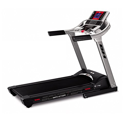 BH Fitness i.Boxster Cinta de Correr eléctrica Plegable - 20 Km/h - Inclinación eléctrica 12% MAX. - Superficie 140 x 51 cm