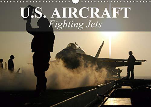 U.S. Aircraft - Fighting Jets (Wall Calendar 2020 DIN A3 Landscape)