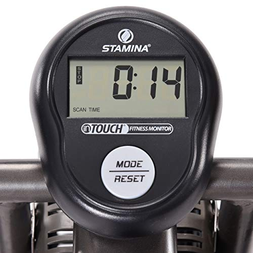 Product Image 4: Stamina Air Resistance Exercise Bike 876, Silver, Gray