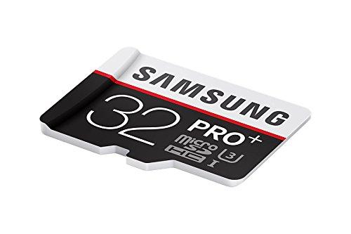 Samsung Speicherkarte MicroSDHC 32GB PRO Plus UHS-I Grade U3 Class 10, für Smartphones, Tablets und Action Cams, mit SD Adapter