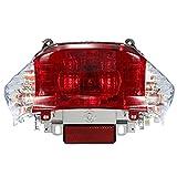 RV-Parts RÜCKLICHT Rückleuchte Klar/Weiß Baootian REX RS 450 460 Jinlun Ecobike Chinaroller Roller