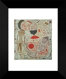 Paul Klee Framed Art Print 18x15