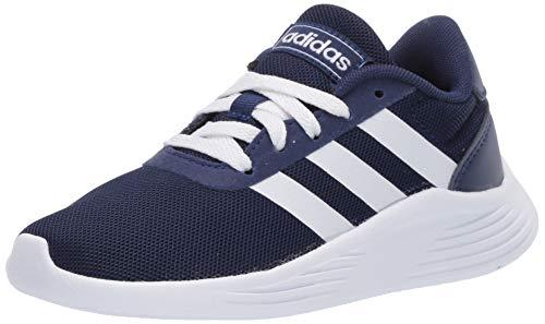 adidas Unisex-Child Lite Racer 2.0 I Sneaker, Dark Blue/FTWR White/core Black, 3K M US Little Kid