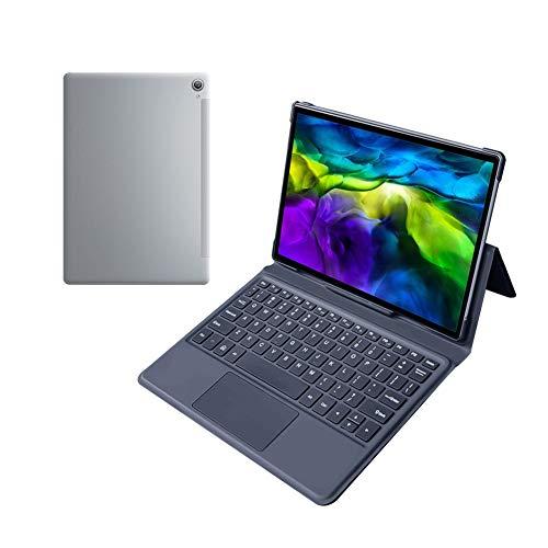 JSNASUI Cheap Notebook Tablet 13.3-Zoll-Tablet-PC, 12 GB + 128 GB, 20000mAh-Batterie, MTKX30 Ten-Core (5G) (Color : Silver)