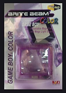 Adjustable Magnifier and Mega Light Source Gameboy Color Purple