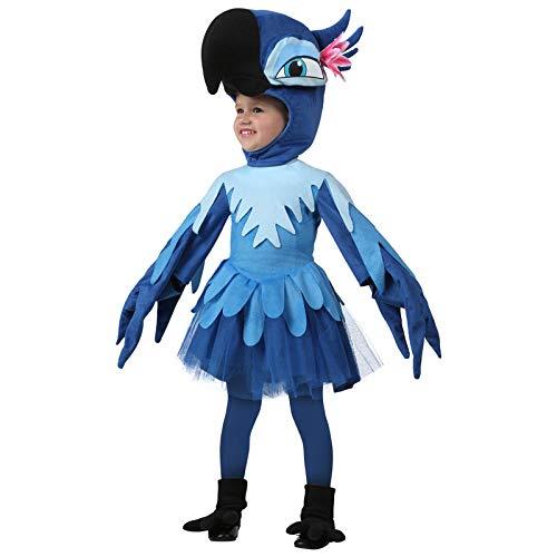 Cosplay Kostüm Kleinkind Rio Papagei Vogel Tier Cosplay Kostüm Halloween Kostüm Party Ballkleid Einzigartiges Kostüm A 24M