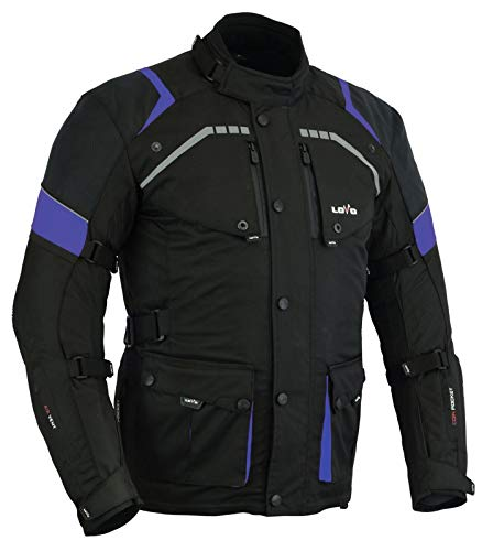 LOVO Chaqueta 3/4 para moto (Hombre) (XL)