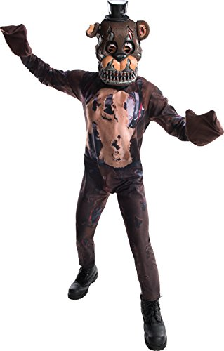 Five Nights At Freddy's Nightmare Freddy Costume Child Large