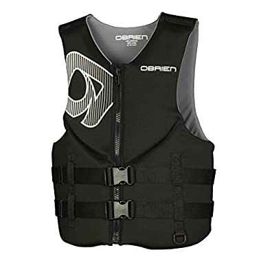 O'Brien Traditional Neo Life Men's Vest, Black, Large