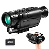 Best Night Vision Goggles - Infrared Night Vision Monocular Goggles Scope, 8X40 HD Review
