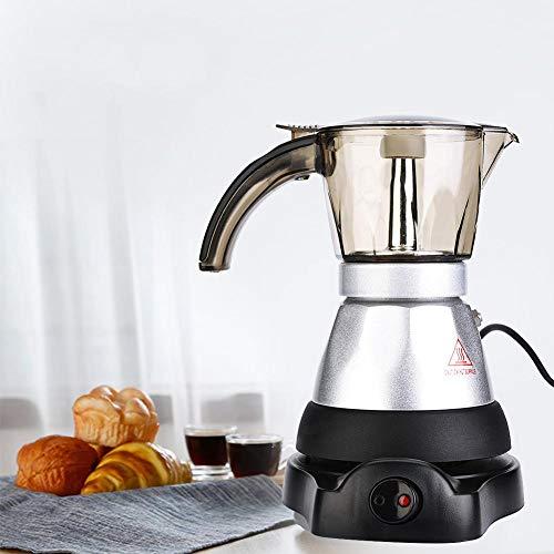 Caffettiera, caffettiera elettrica ad alta capacità con piano cottura, caffettiera, caffettiera espresso per uso domestico in cucina(150ML)
