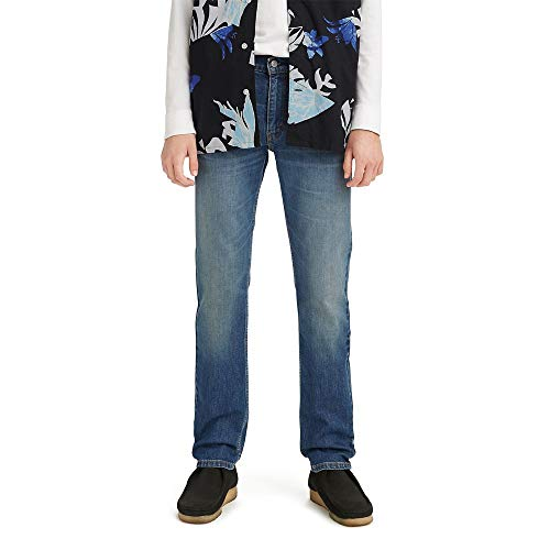 Levi's 511 Slim-Fit Jeans, Carico Madre-Indaco Medio, 32 W/30 L Homme