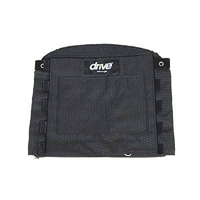 Drive Medical Adjustable Tension Back Cushions, Black